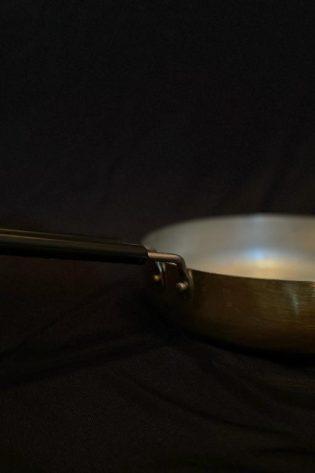 Tin Coated Brass Fry Pan