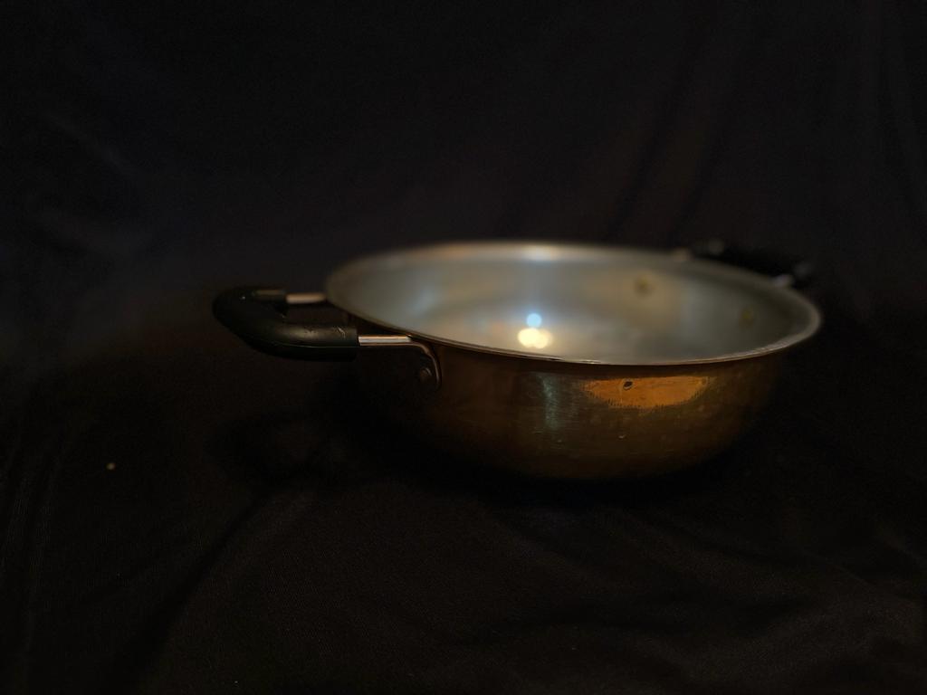 Tin Coated Brass Kadai